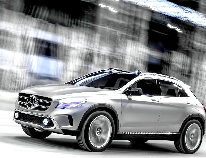 Mercedes-Benz GLA Concept 2014
