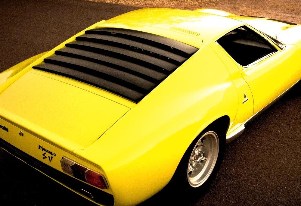 1967 Lamborghini Miura P400 SV Conversion