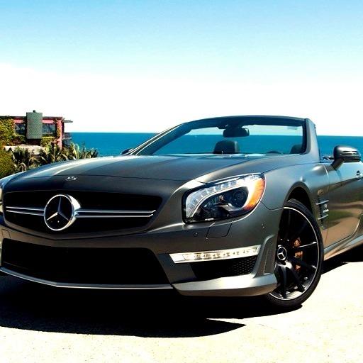 Mercedes-Benz SL 63 AMG (Instagram @fjmercedes)